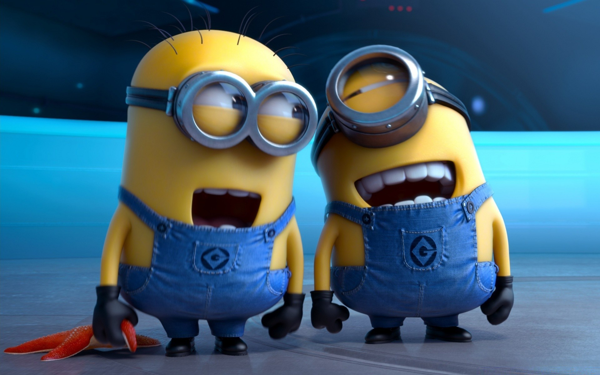 Despicable Me 2 Laughing Minions Android Wallpapers