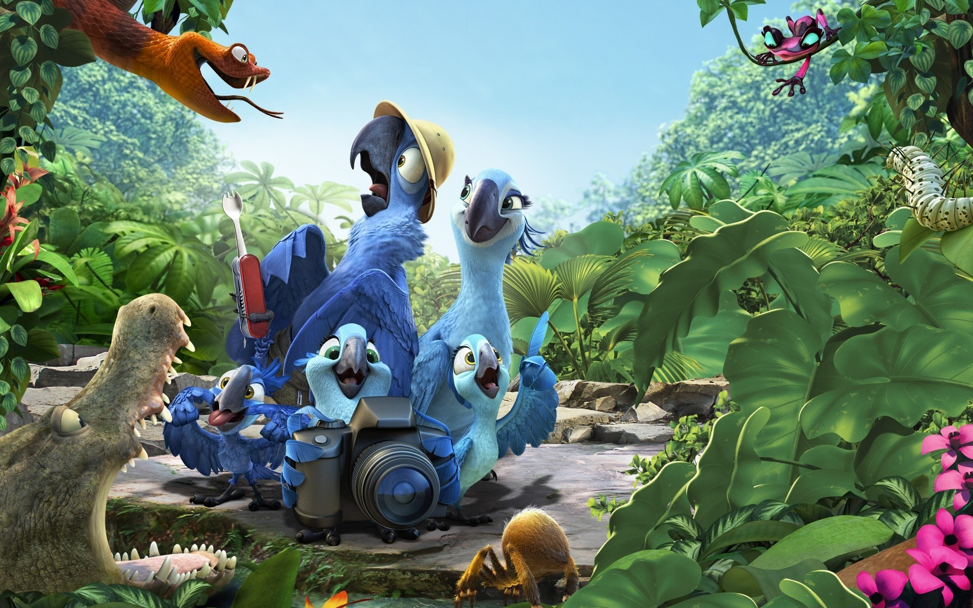 rio 2 amazon. android wallpapers for free.