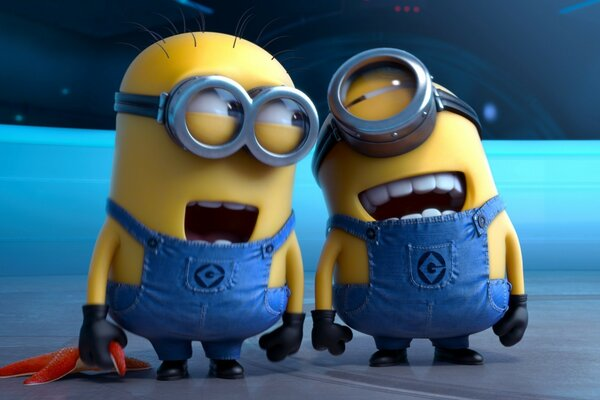 Despicable Me 2 Laughing Minions