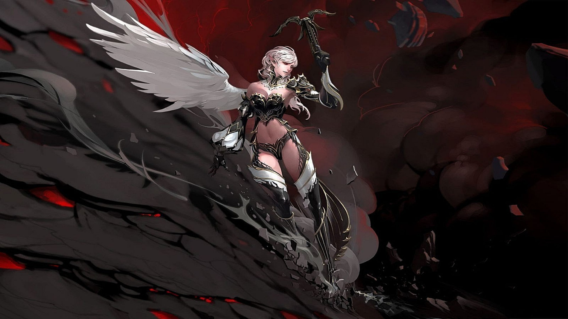 Lineage 2 Phone Wallpapers