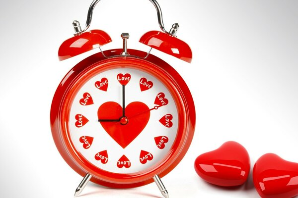 The alarm clock of love