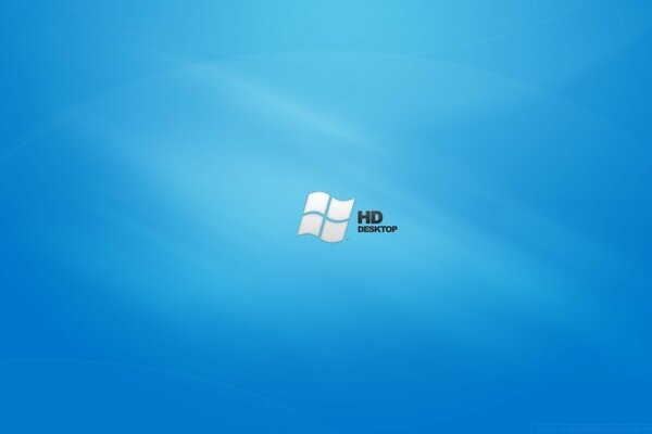 HD Blue Desktop Vista