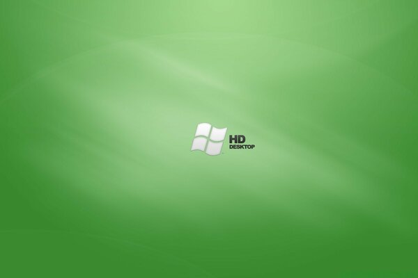HD Green Desktop Vista