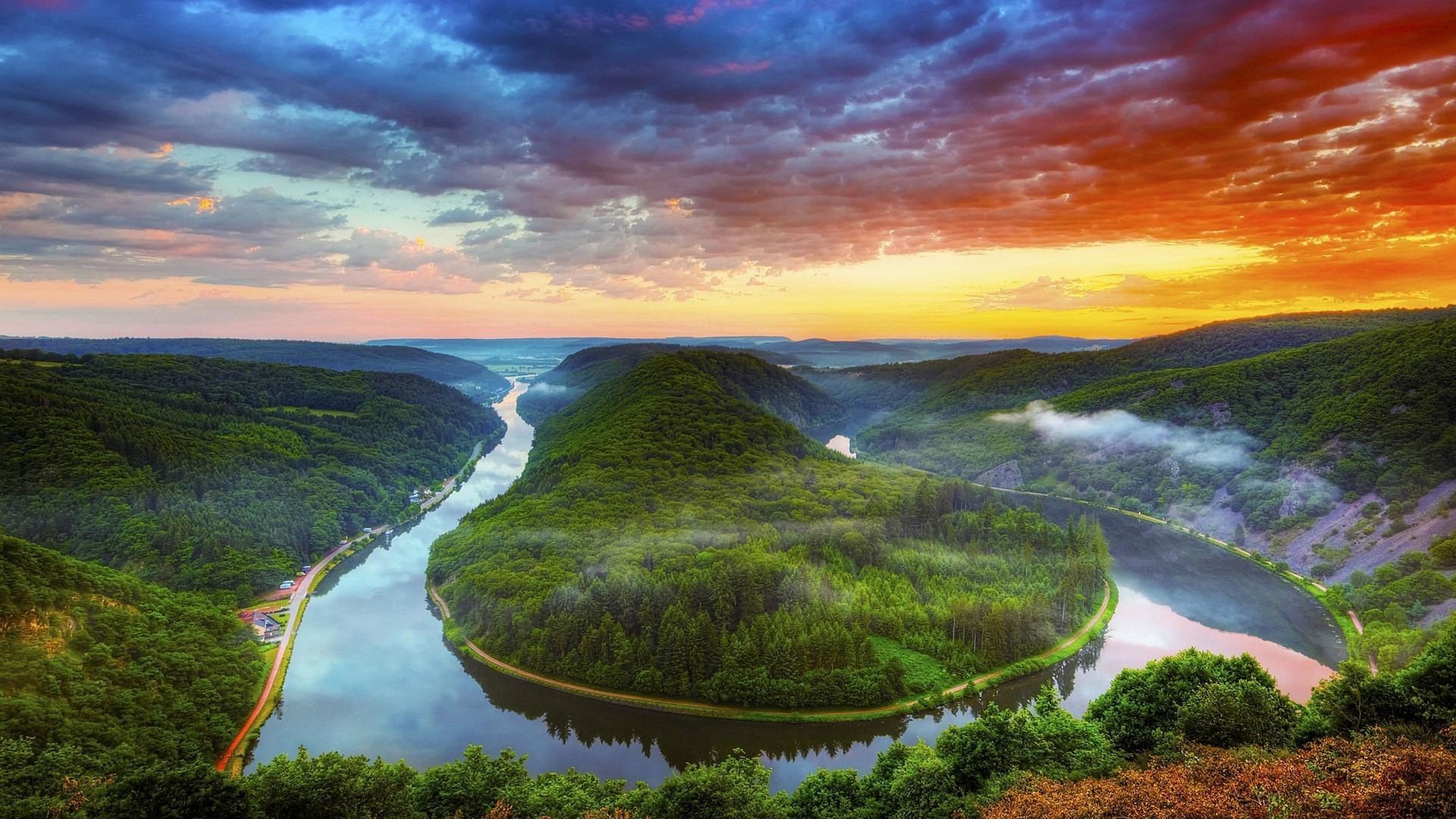 rivers ponds and streams water landscape travel nature outdoors river mountain scenic sky lake