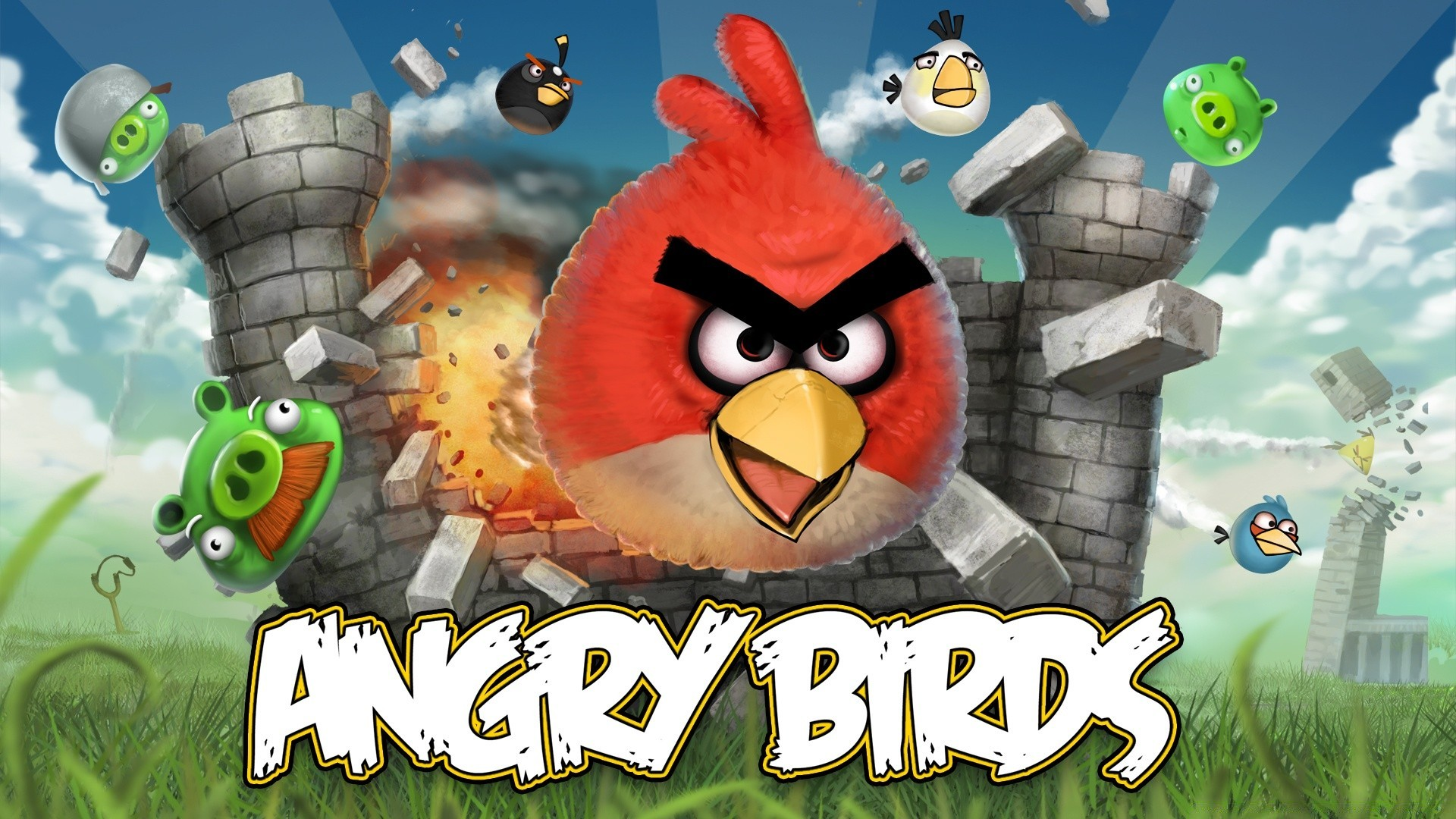 Angry Birds Game - Free wallpapers