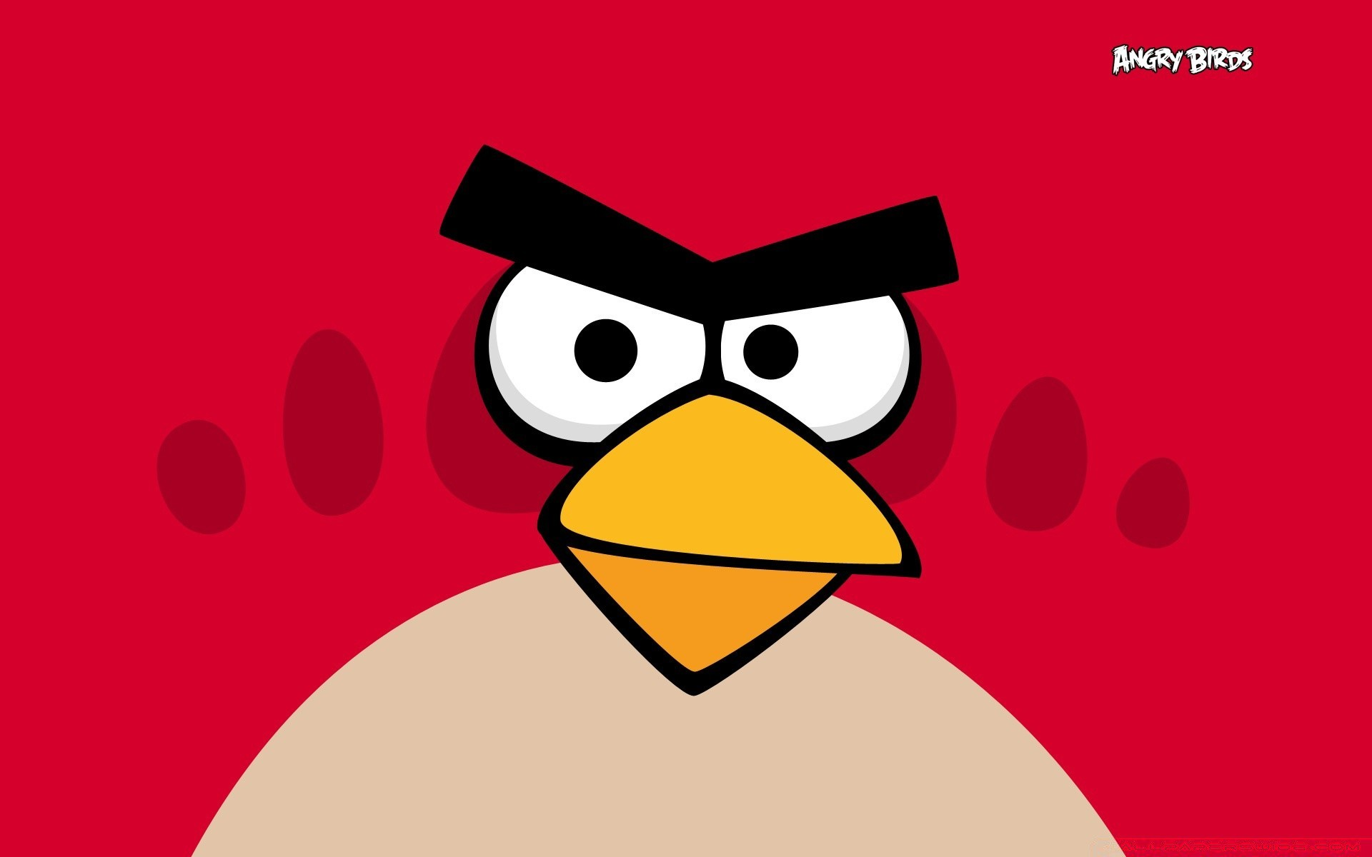 Angry Birds Red Bird Android Wallpapers For Free