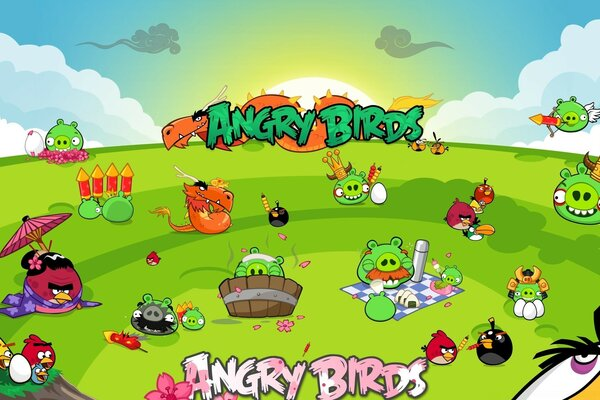 Angry Birds Seasons Party