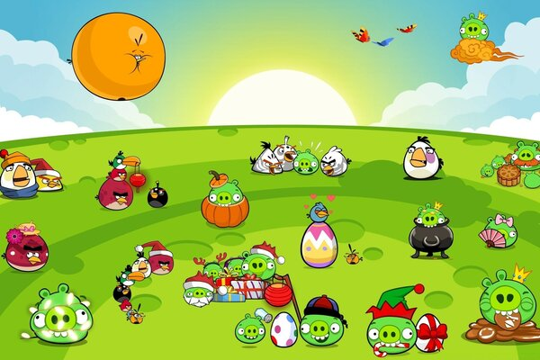 Angry Birds New Party