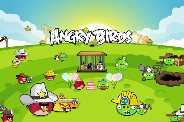 Angry Birds Best Party