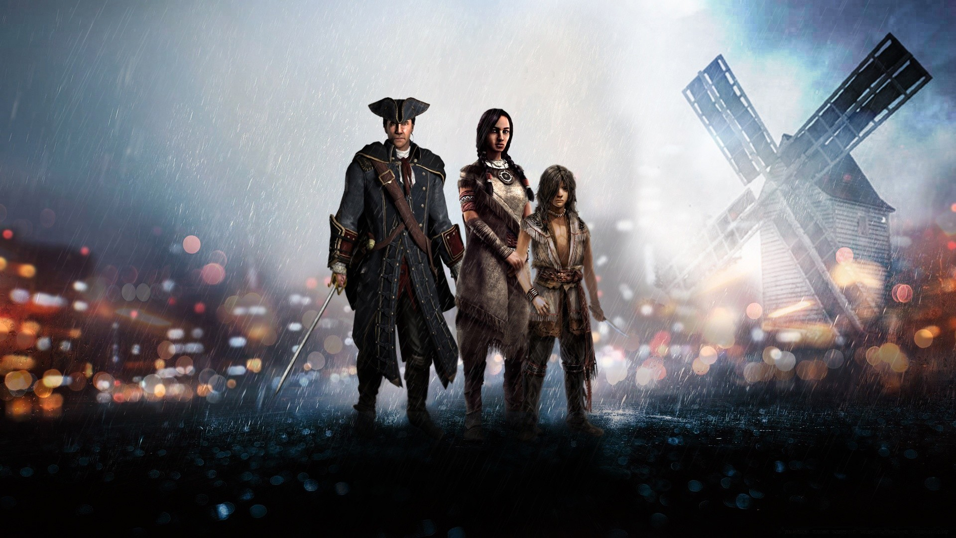 Assassins Creed III Family Android Wallpapers For Free