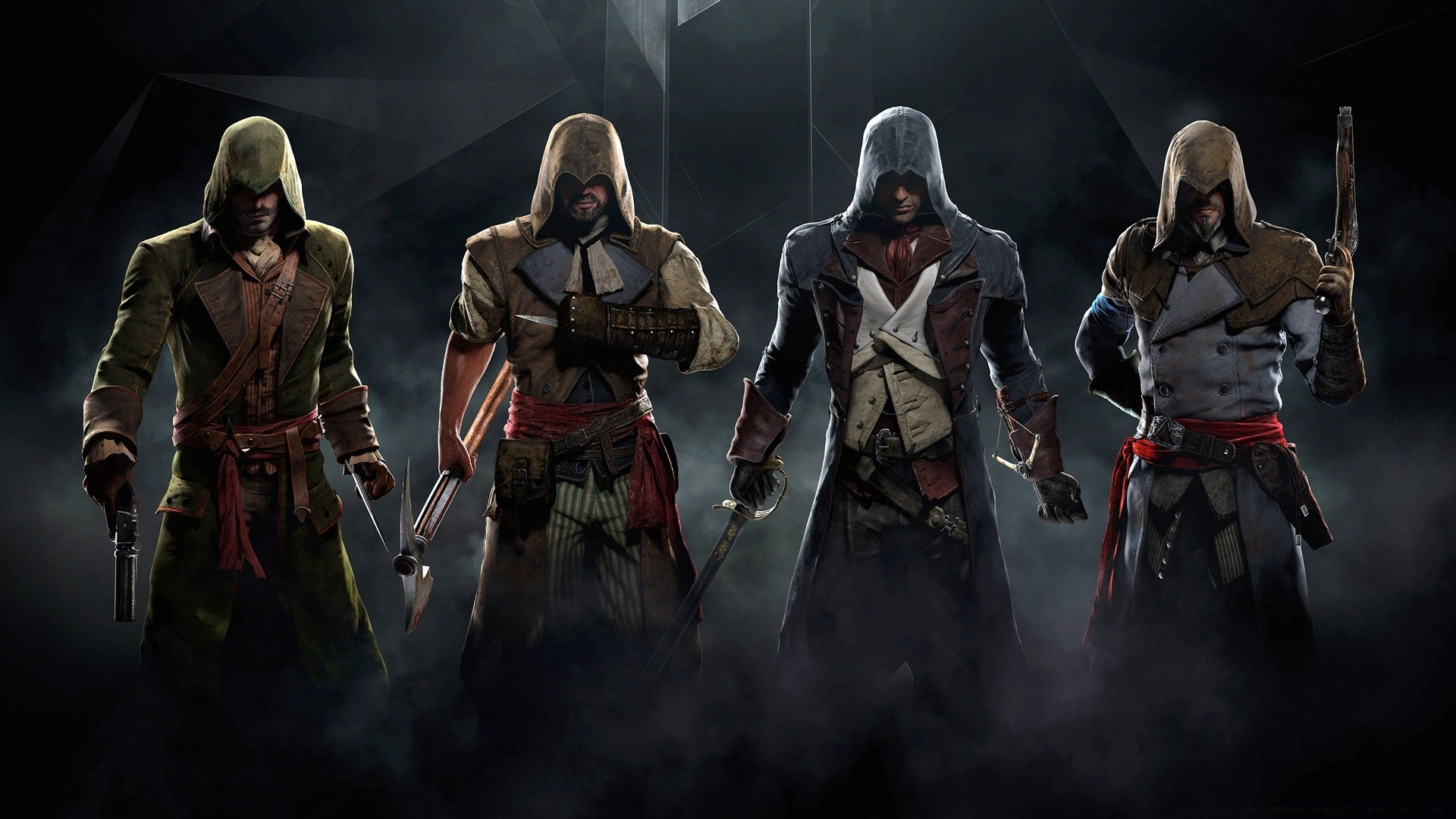 Assassins Creed Unity High Resolution Background Phone Wallpapers