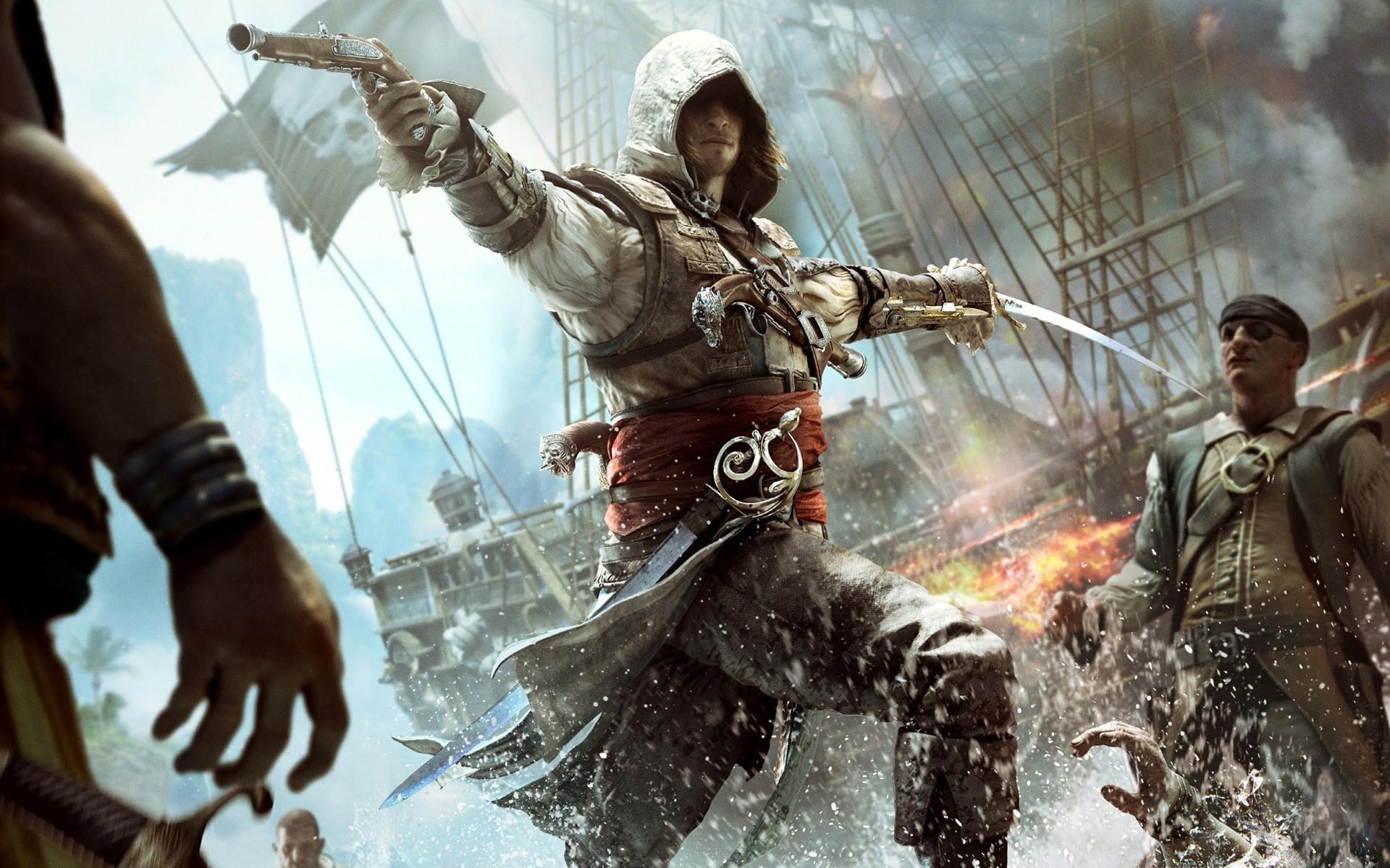 Assassins Creed Iv Black Flag Edward Kenway Android Wallpapers