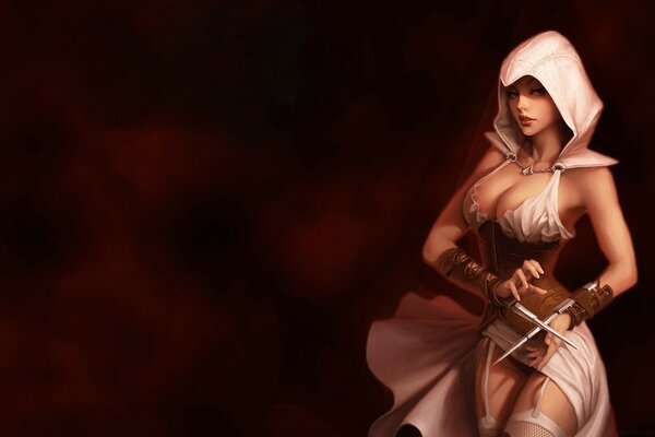Assassins Creed Girl