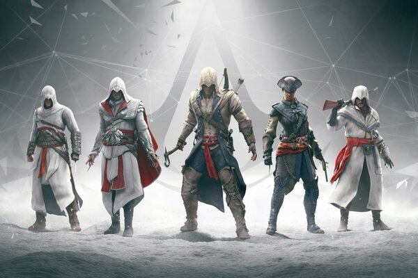 Assassins Creed Character Art