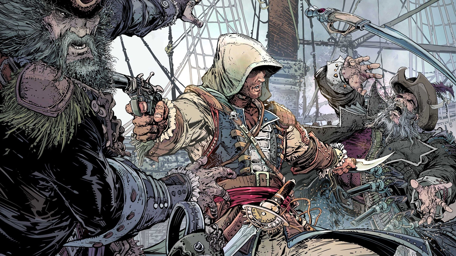 Assassins Creed Black Flag Android Wallpapers