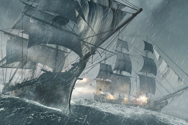 Assassins Creed IV Black Flag Ships