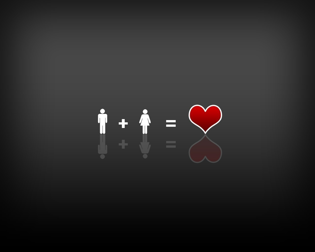 Male + Female = Love