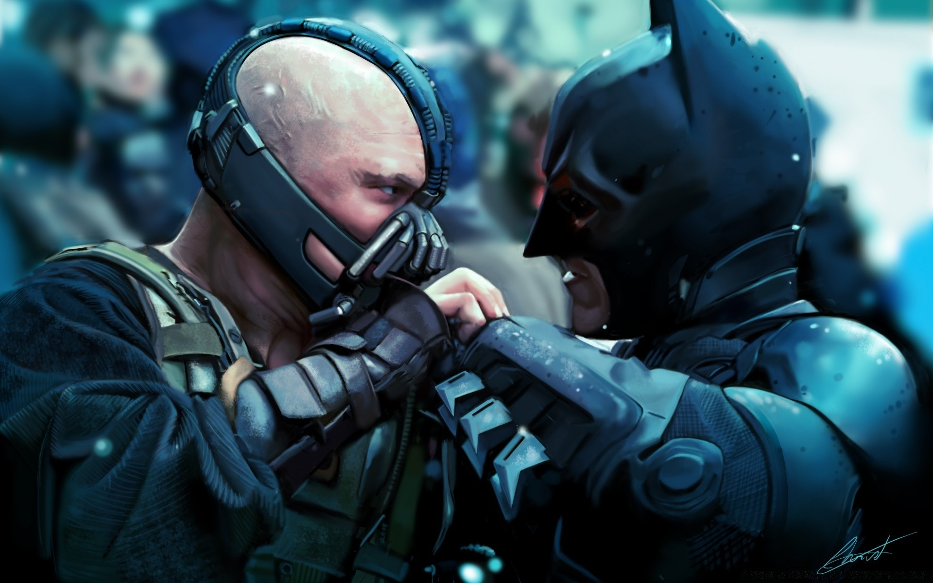 The Dark Knight Rises 2012 Android Wallpapers