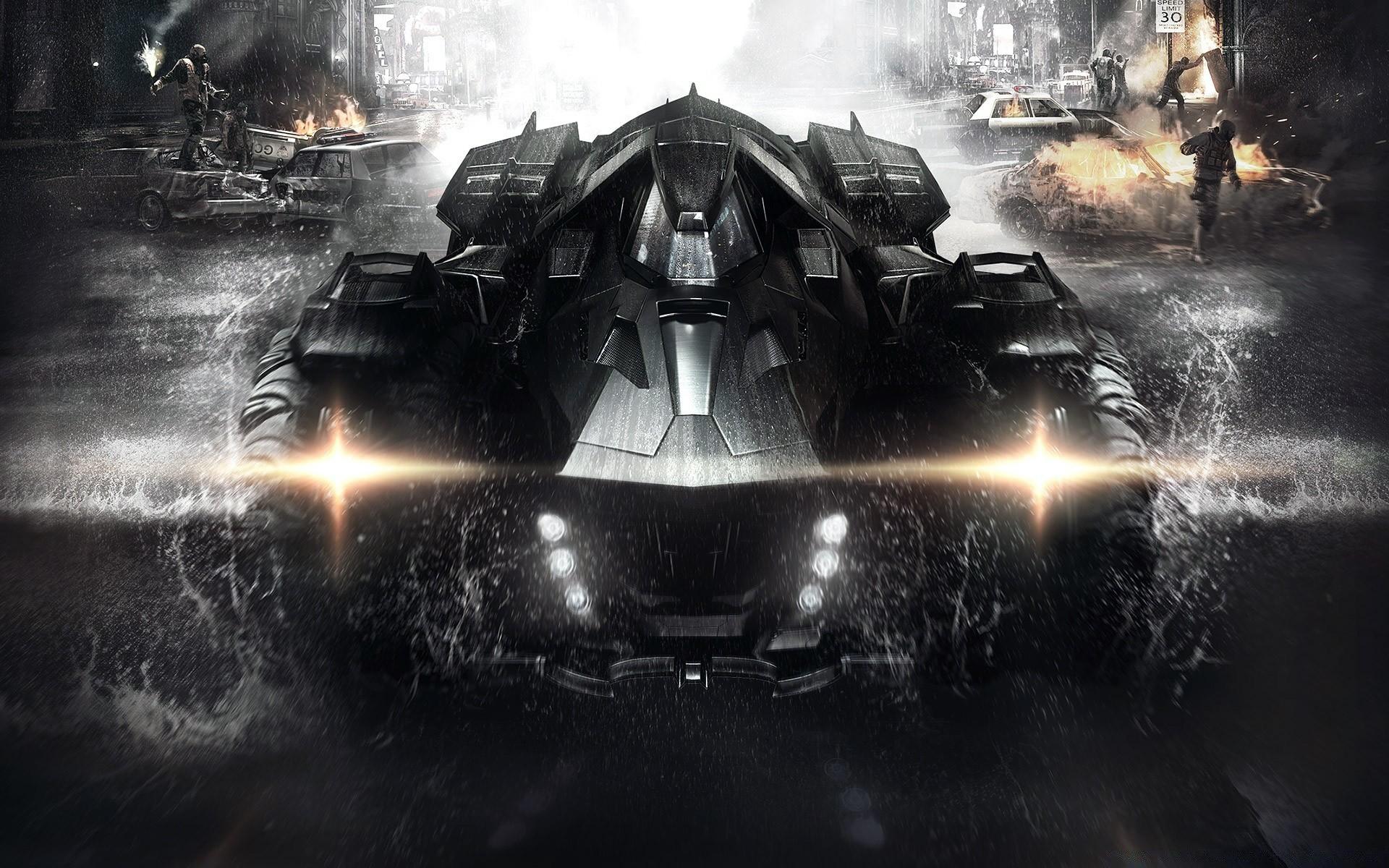Batman Arkham Knight Batmobile Free Wallpapers