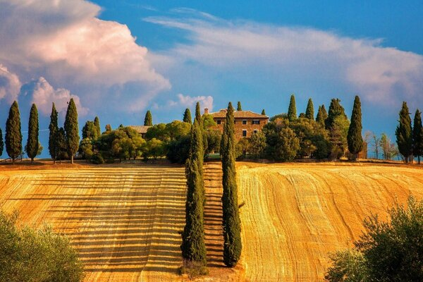 The Province Of Siena, Toscana, Italy