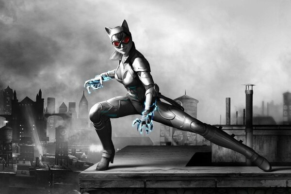 Batman Arkham City Armored Edition - Catwomen