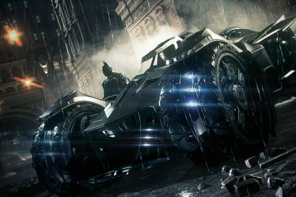 Batman Arkham Knight Batmobile 2014