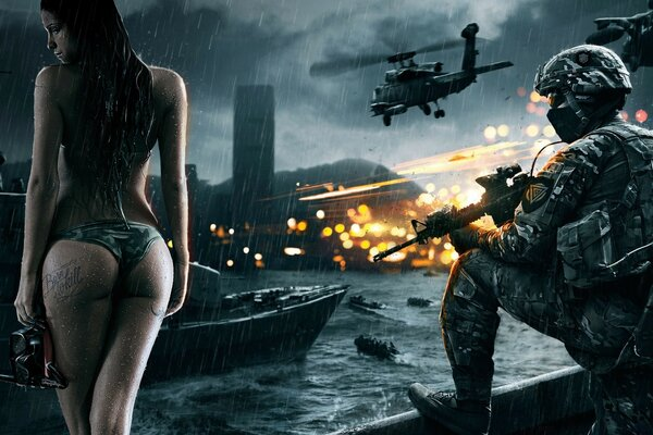 Battlefield 4 Wallpaper - Good day for a dive
