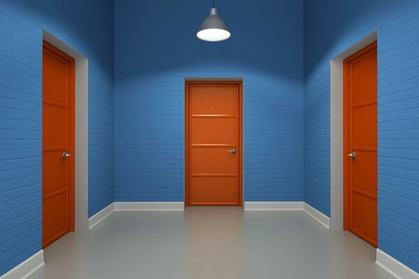 Three doors in an empty room - there is always a way