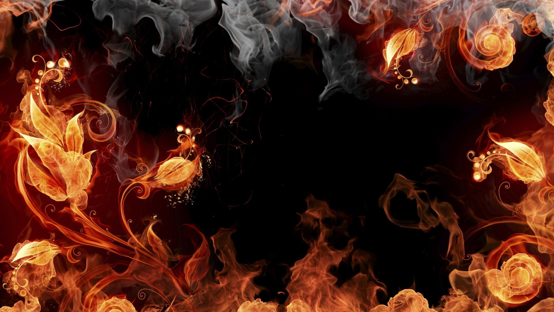 пламя блики бесплатно