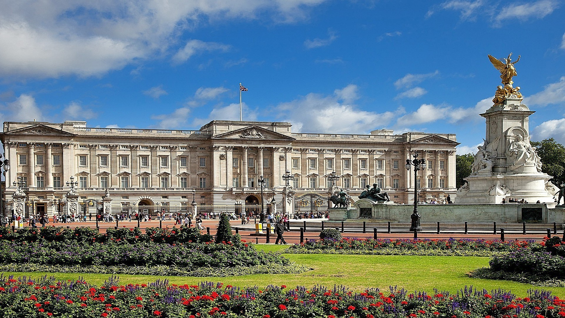 Buckingham Palace, London, England загрузить