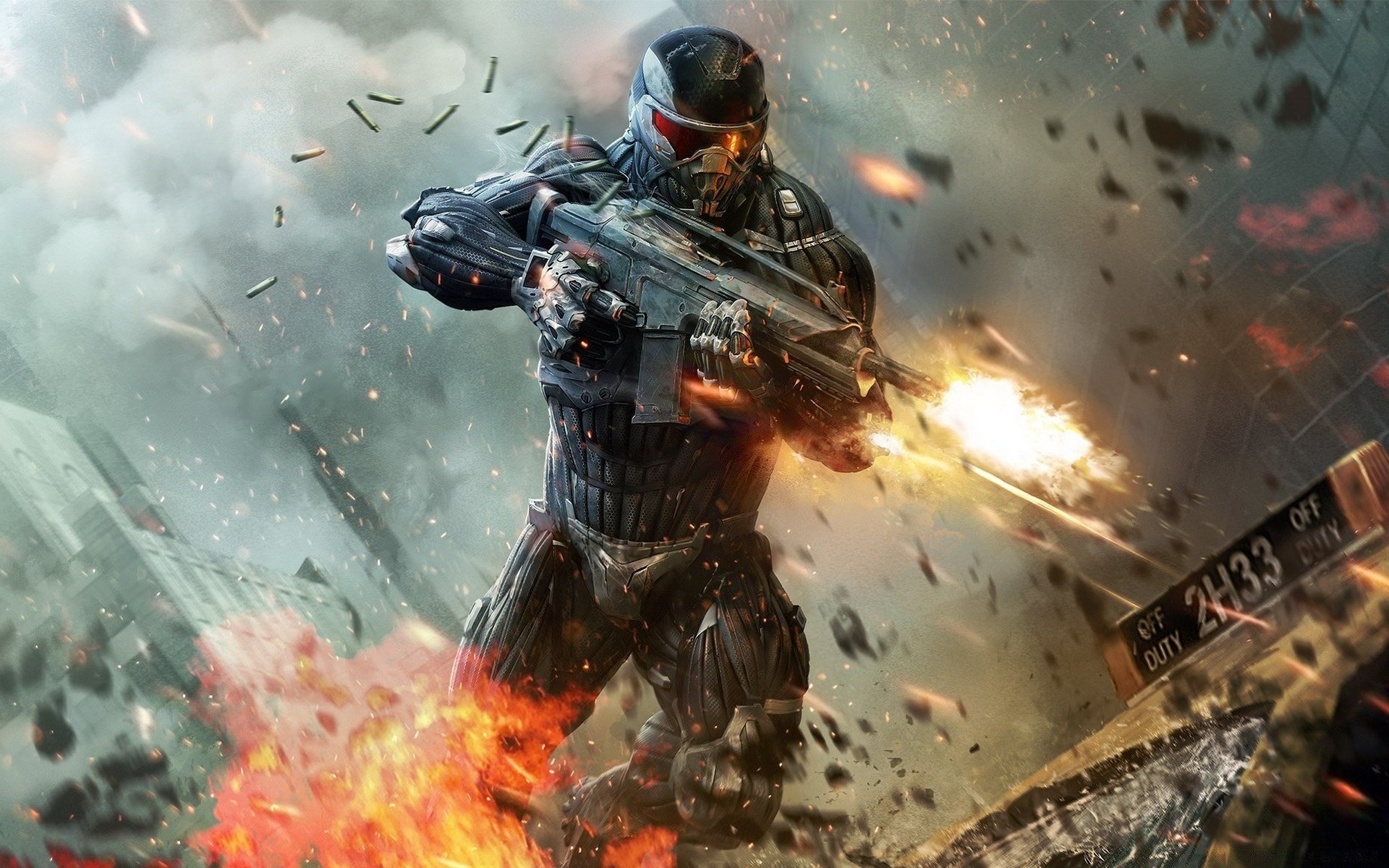 Crysis 2 Shooter Video Game Android Wallpapers For Free