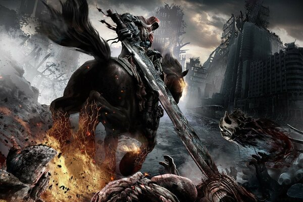 Darksiders Horsemen