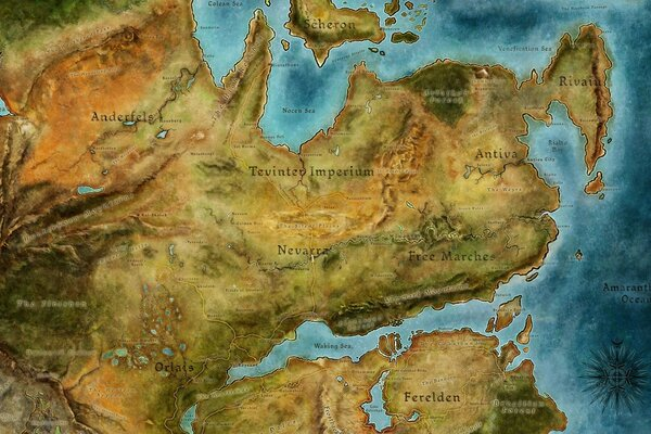 Dragon Age 2 Map