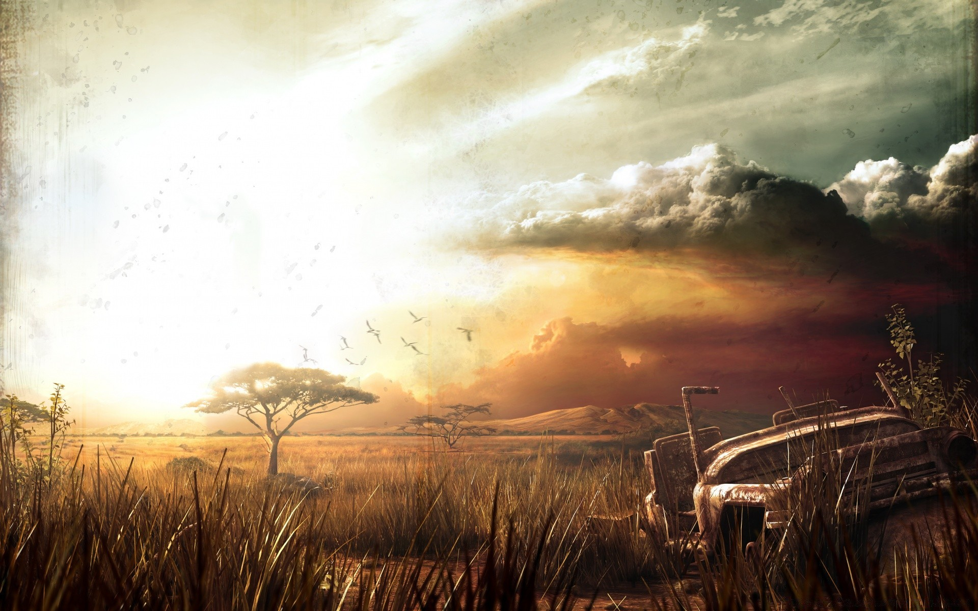 Far Cry 2 Landscape Android Wallpapers