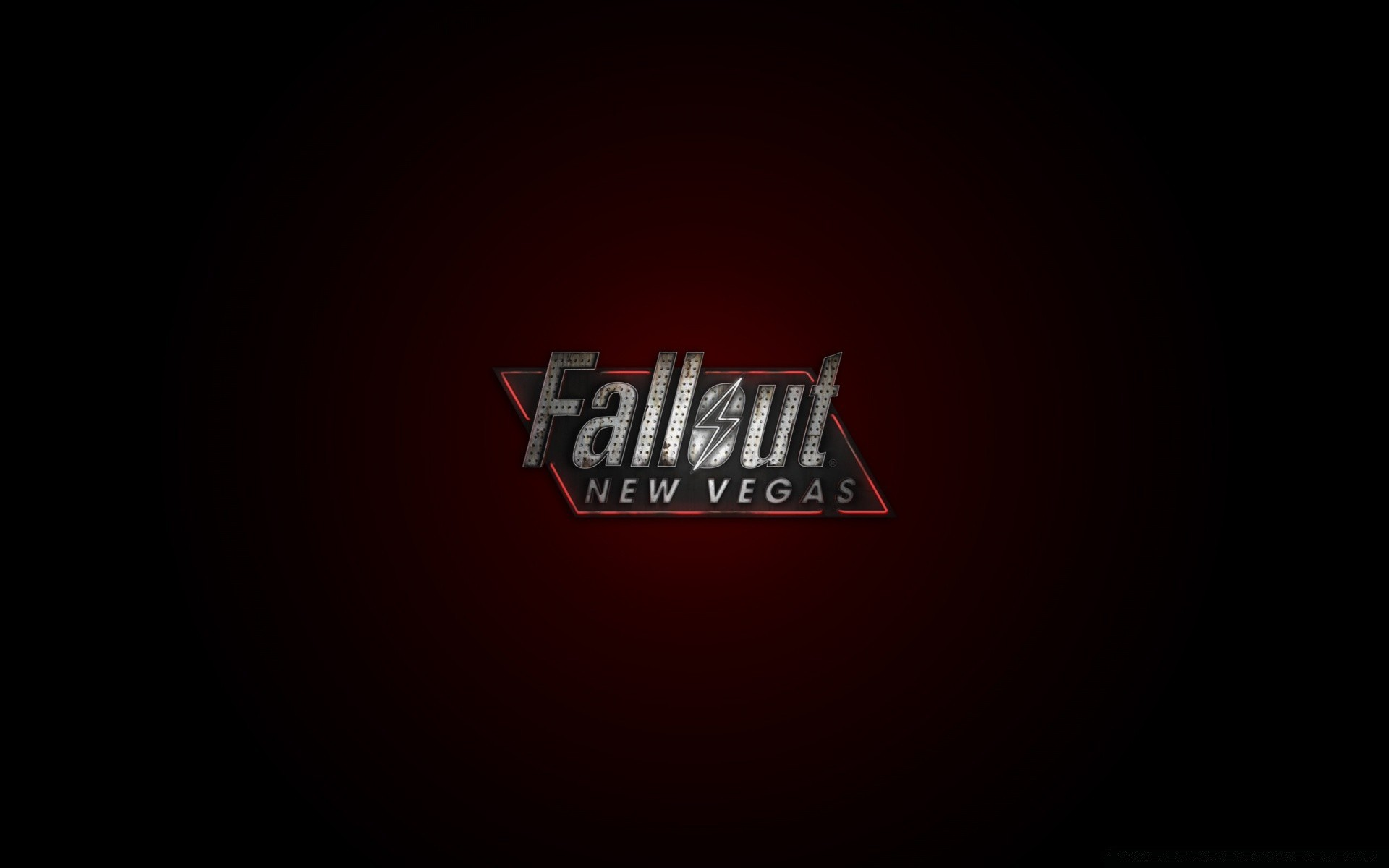 Fallout New Vegas Logo Red Phone Wallpapers