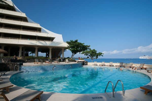 Pool in Kailua-Kona in United States, in the district of Hawaii