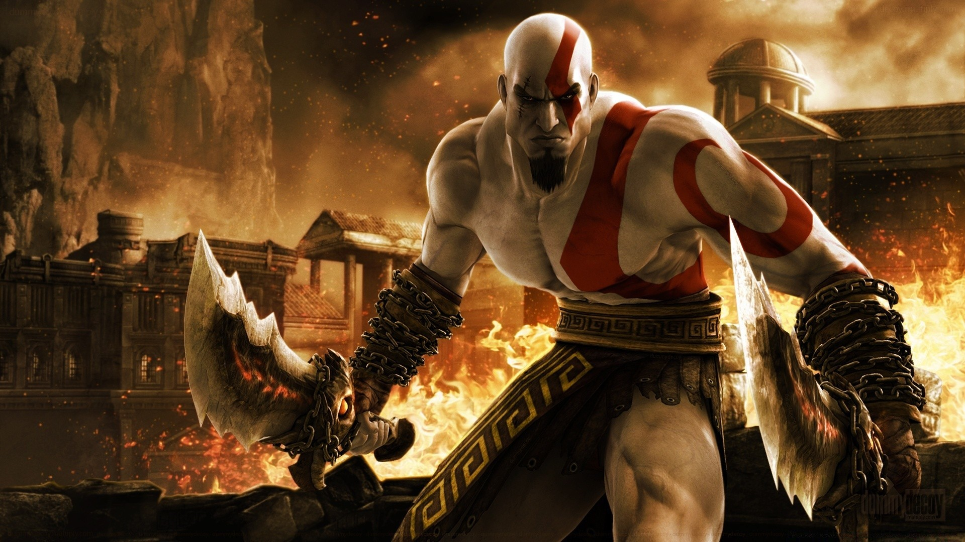 Kratos In God Of War Android Wallpapers