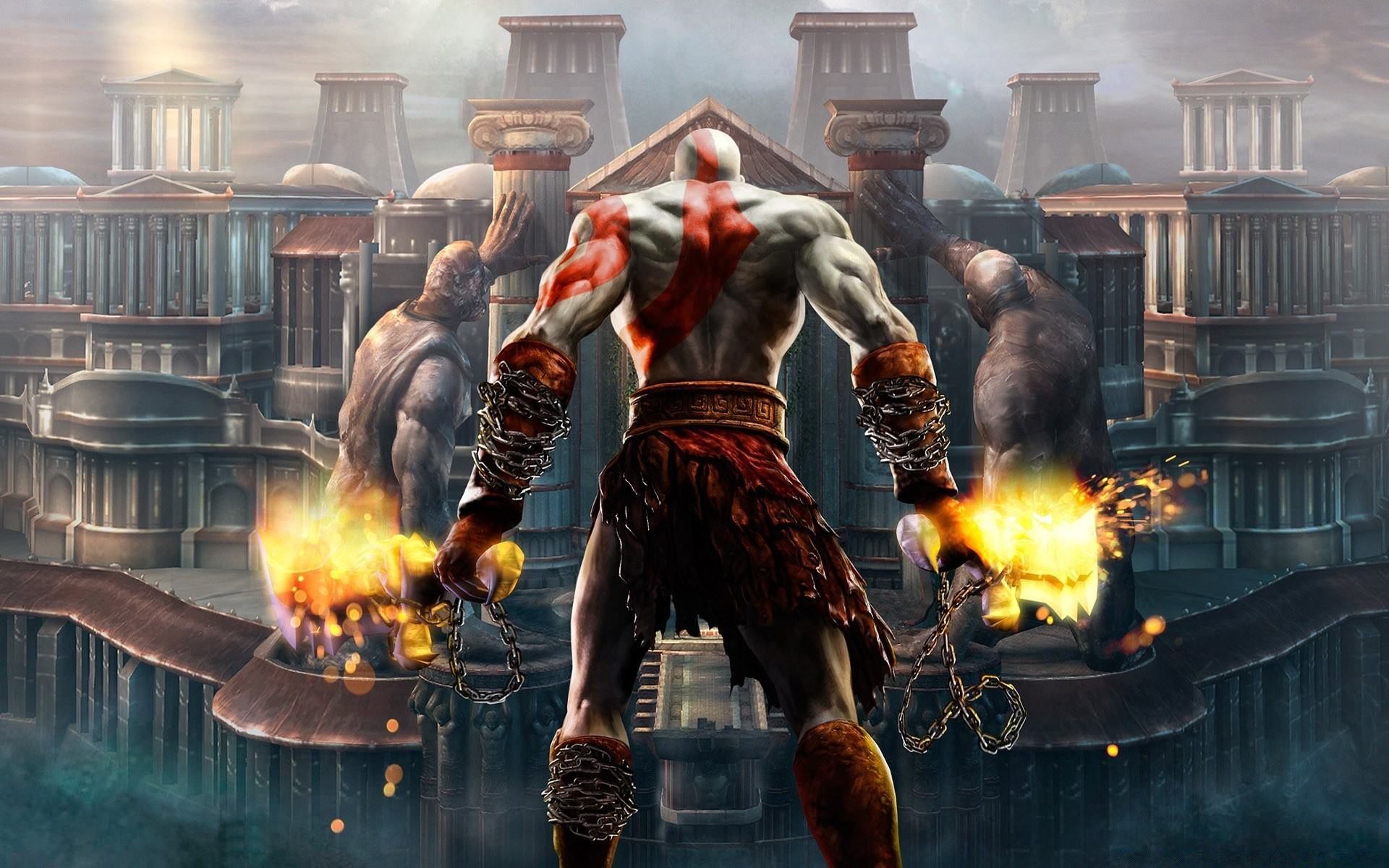 Kratos God Of War Android Wallpapers