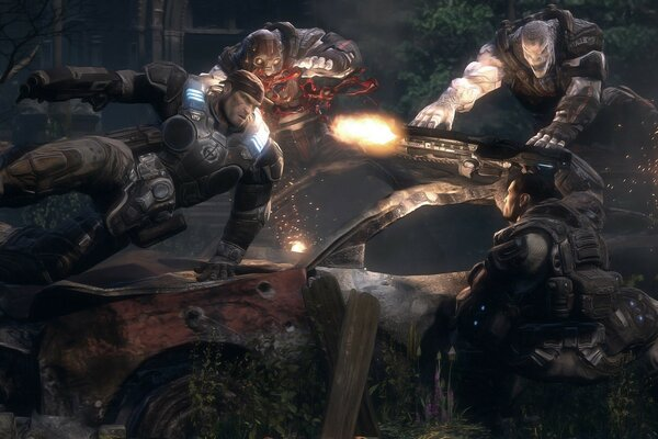Gears Of War Game Battle