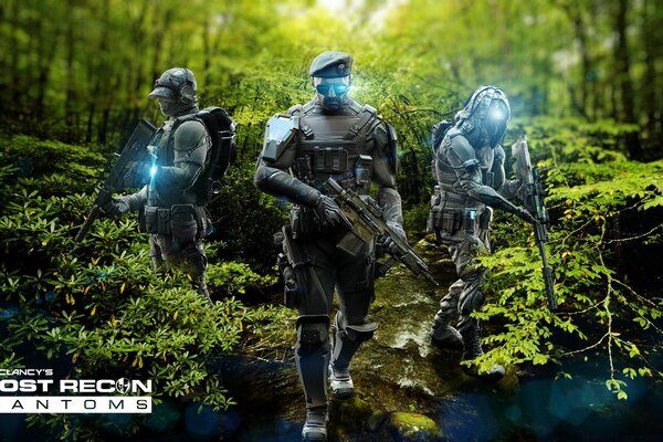 Ghost Recon Phantoms Jungle Pack By Emelson