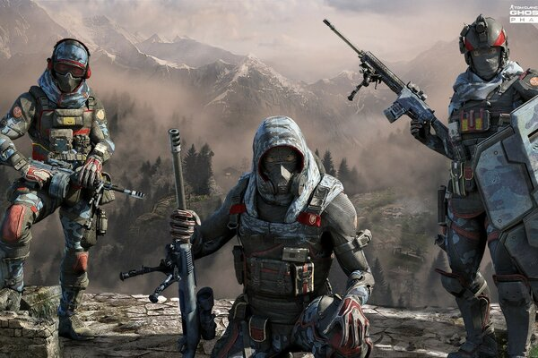 GHOST RECON PHANTOMS GHOSTS FarCry4 PACK Complete Weapons Edition FULL HD 1920 X 1080 Ubisoft
