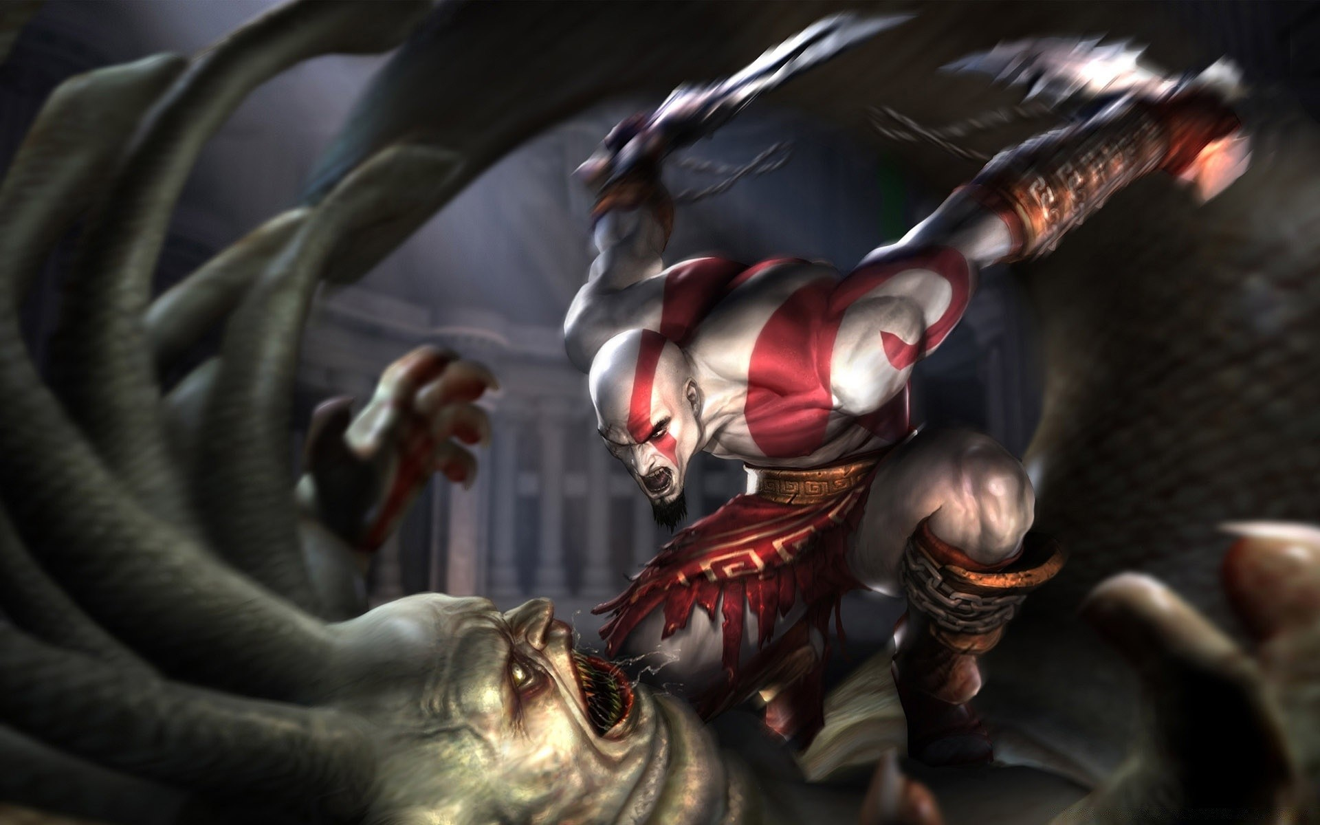 God Of War Game Battle Phone Wallpapers