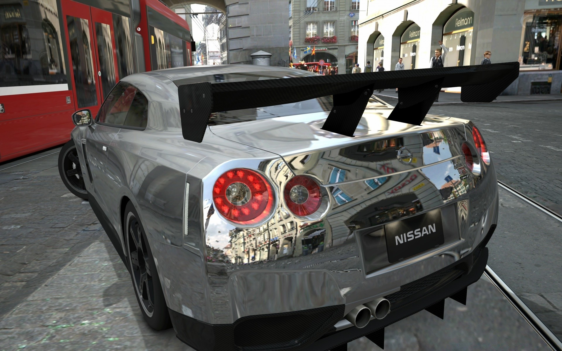 Nissan Gtr Chrome Phone Wallpapers