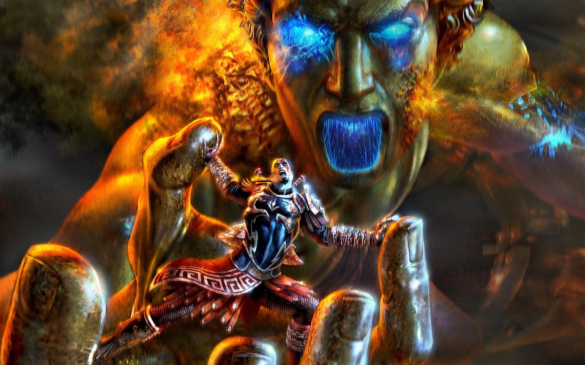 God Of War Game Battle Android Wallpapers