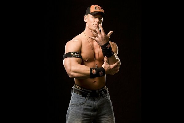 John Cena - a man with a capital letter