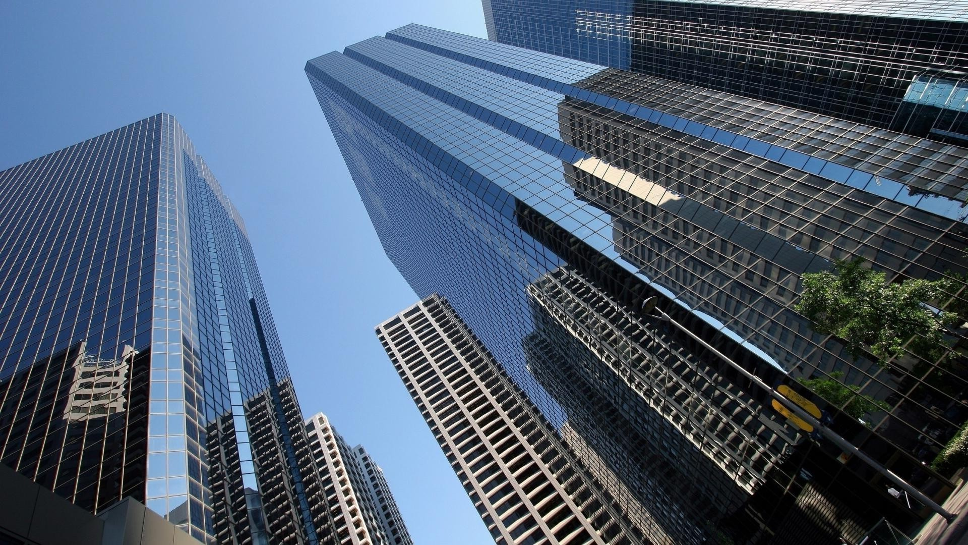 Skyscrapers. Android Wallpapers For Free