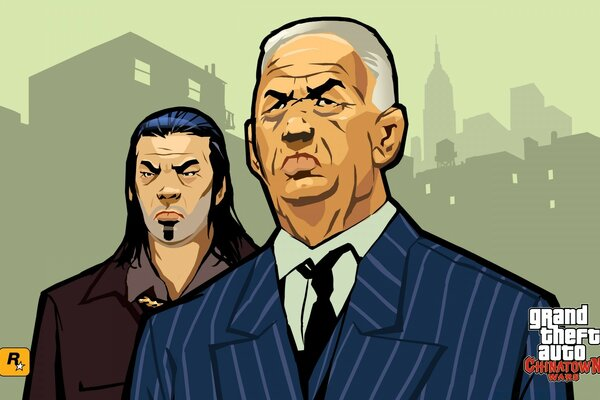 Grand Theft Auto Chinatown Wars Hsin And Chan Joaming