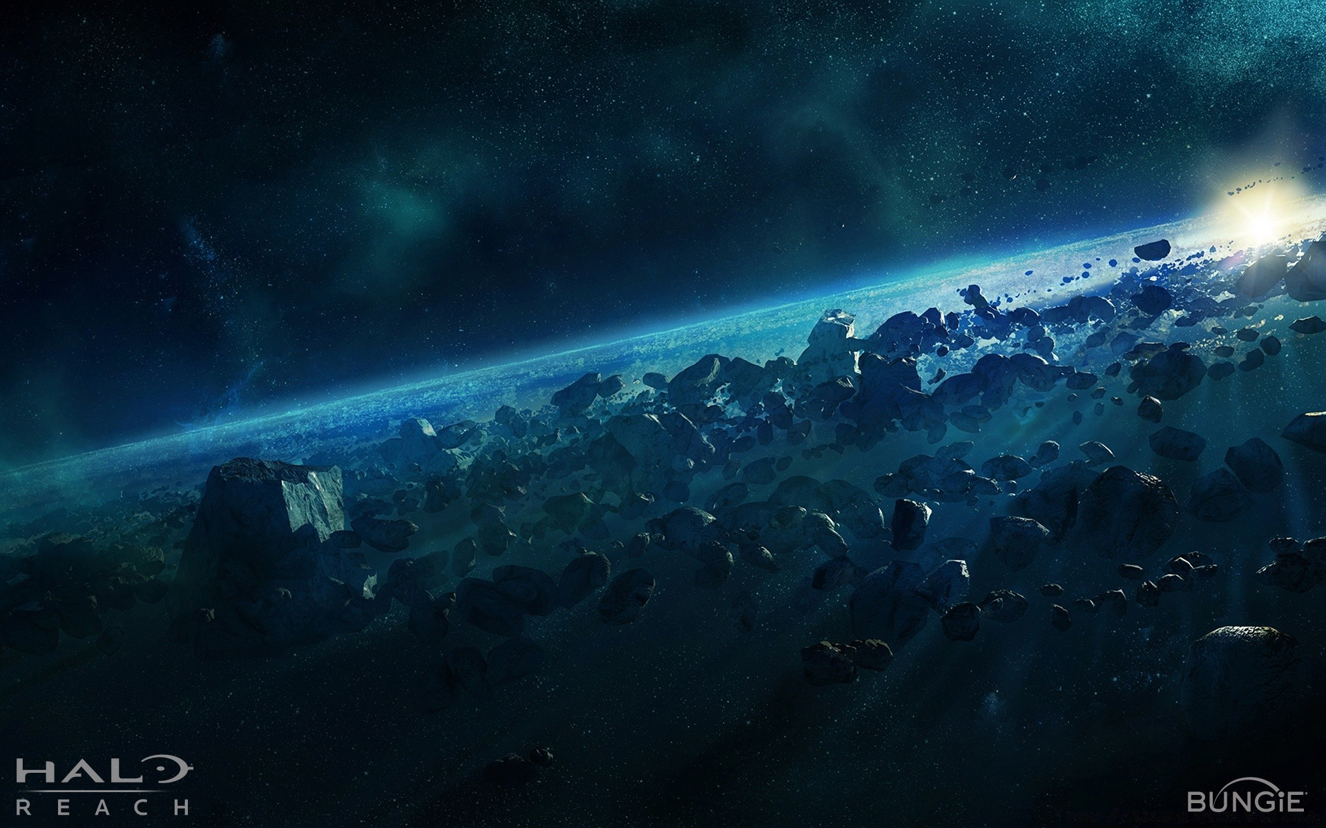 Halo Reach, Asteroid - Android wallpapers