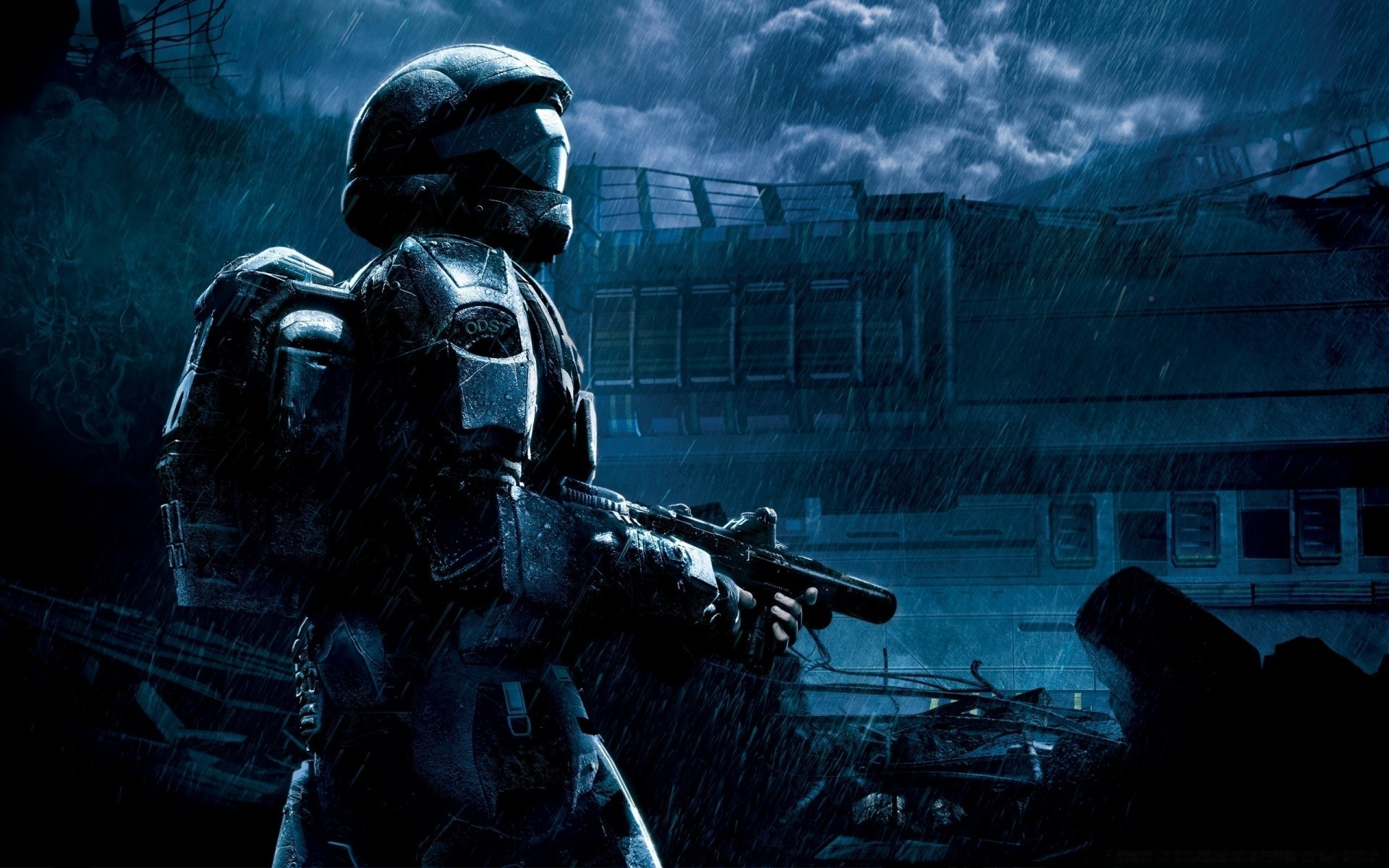 Halo 3 Odst Master Chief Phone Wallpapers