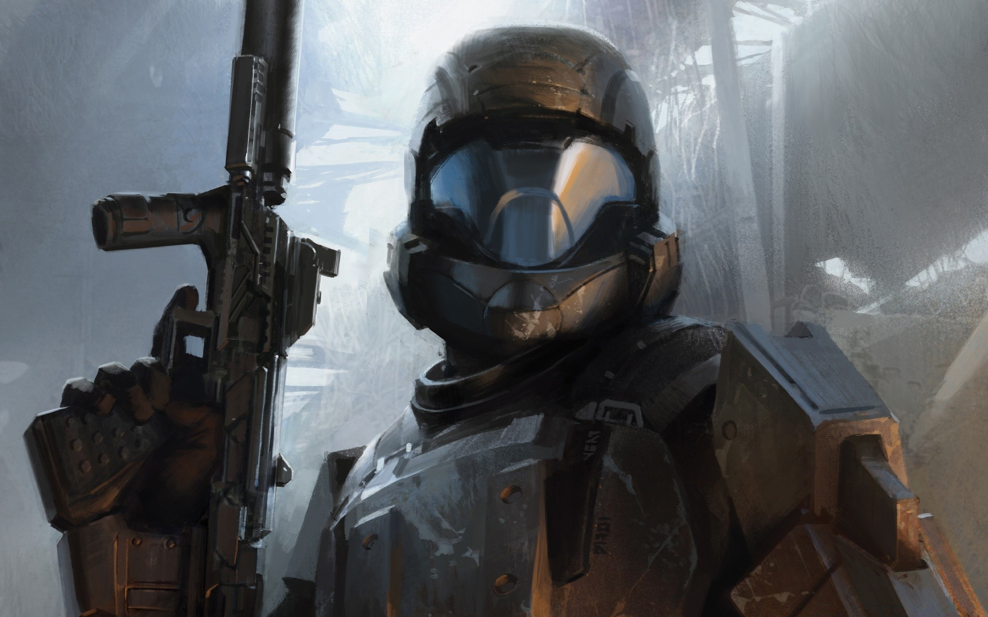 halo 3 odst the rookie. iphone wallpapers for free.